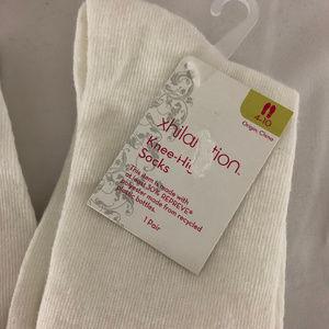 Xhilaration Accessories - Lot of 2 Xhilaration Knee High Socks White